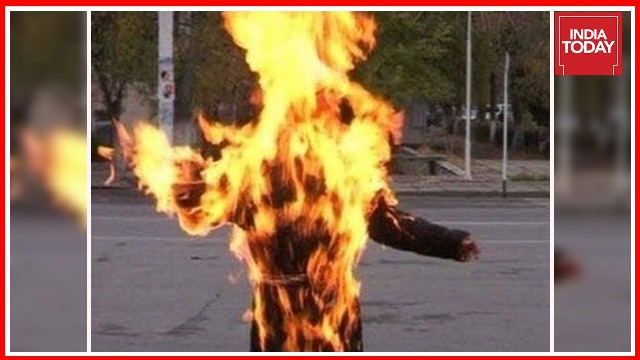 Pregnant Muslim woman burnt alive for marrying Dalit man
