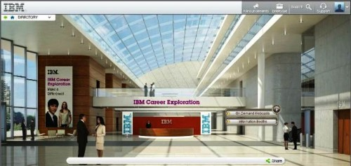 IBM Career Exploration Main Hall