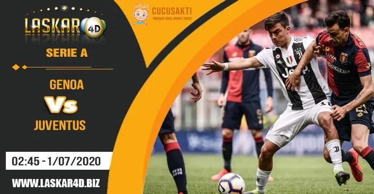 Prediksi Bola Genoa vs Juventus Rabu, 01 Juli 2020