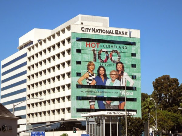 Hot in Cleveland 100th episode billboard