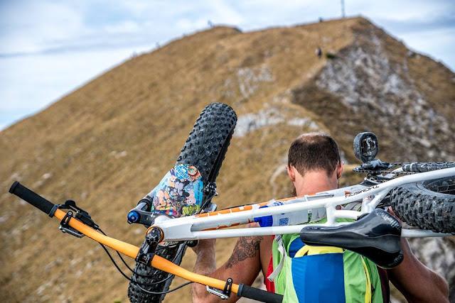 tour fleischbank karwendel mtb mountainbike bike