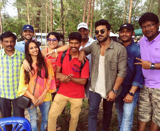 Ram Charan's Dhruva Movie Working Stills