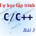 [Tự học lập trình C/C++] Bài 3: Nhập / Xuất trong C/C++
