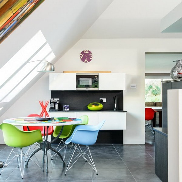 Colorful Kitchens 9