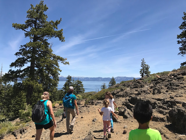 Hiking Eagle Rock Lake Tahoe