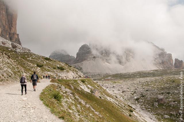 Viaje Italia trekking Tres Cimas de Lavaredo