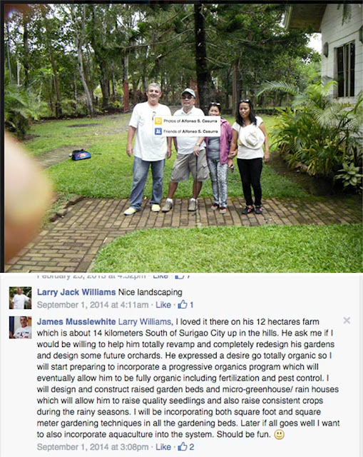 Philippines Sexpats wall of shame: James Musslewhite-From Surigao Philippines