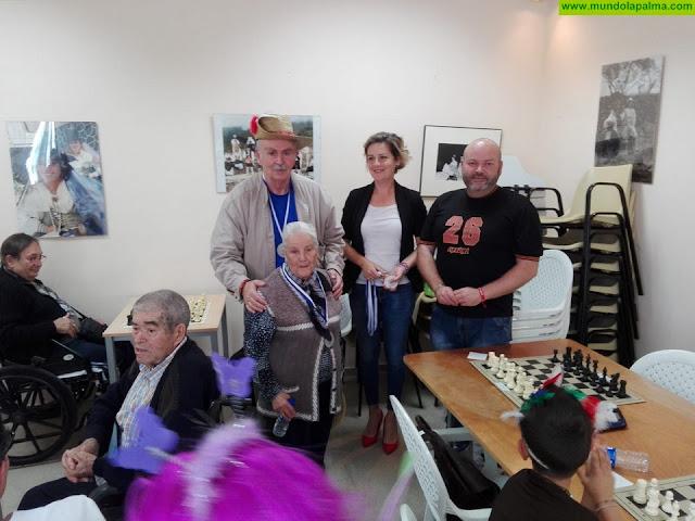 Se celebra el primer encuentro de ajedrez inclusivo en Tijarafe