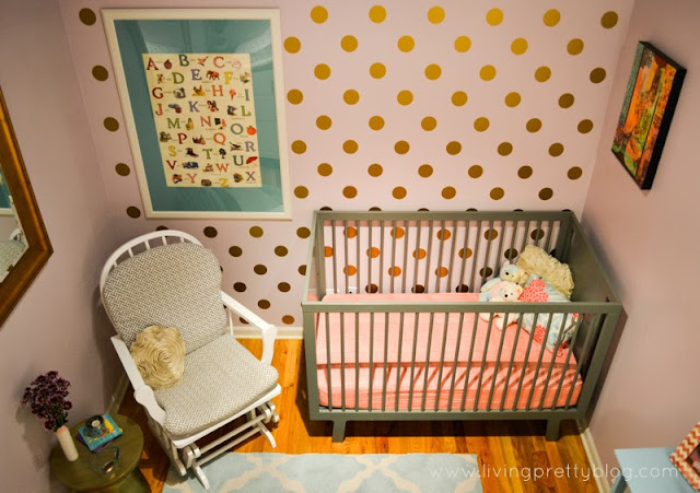 How To Create A Polka Dot Wall (Quickly)