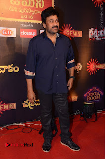 Chiranjeevi Stills at Gemini TV Puraskaralu Event  0010.JPG