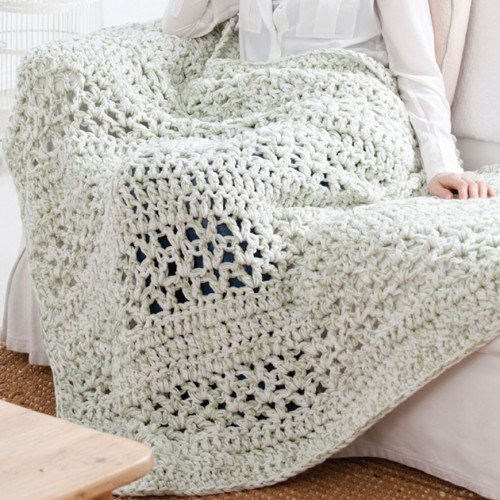 Super Quick Throw - Free Pattern