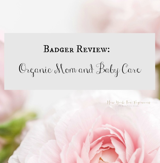 organic beauty products for moms and babies by badger