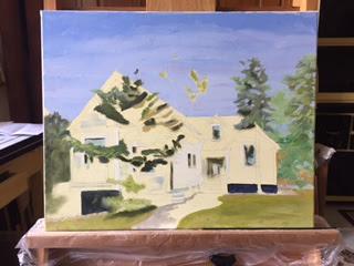 custom painting, schifano