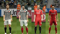 Eintracht Frankfurt Kits 2016-17 Pes 2013