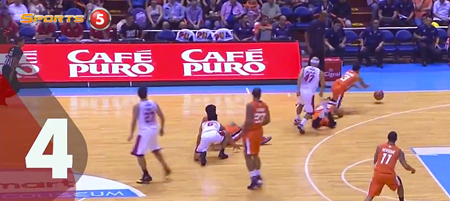 Top 5 Plays from Game 2 of the 2016 PBA Governors' Cup Finals (VIDEO)