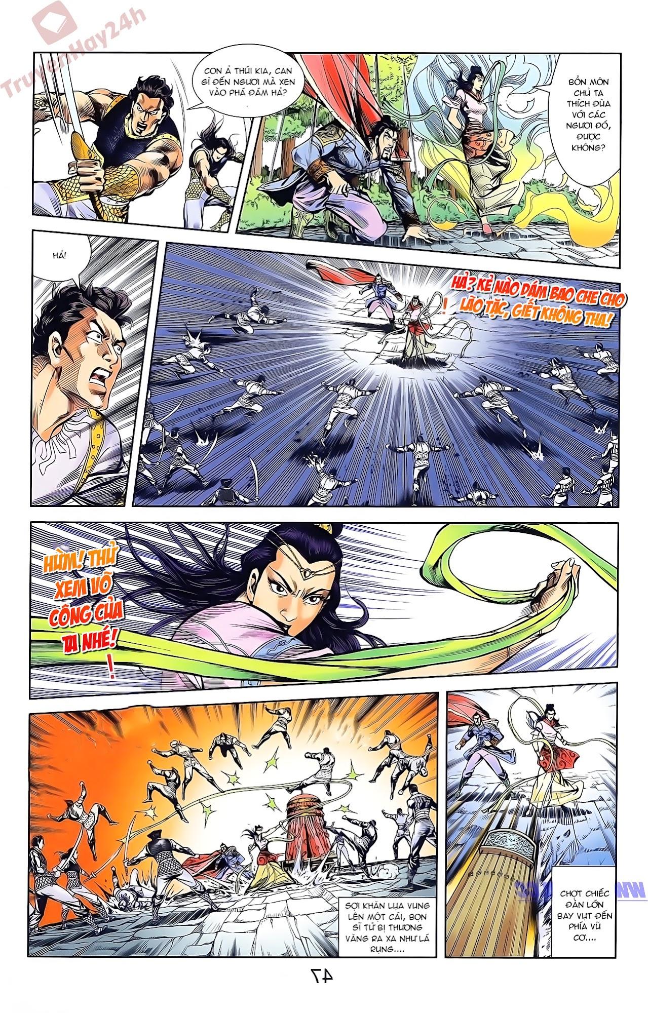 Tần Vương Doanh Chính chapter 46 trang 13