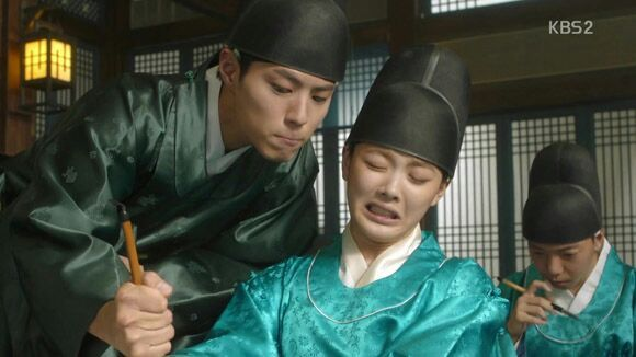 Eunuch exam - Love in the Moonlight