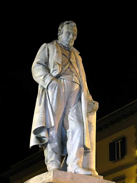 Camillo Benso Count of Cavour by Vincezo Cerri, Livorno