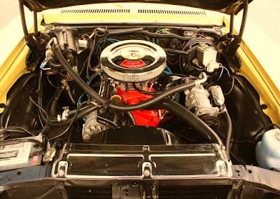 1972 Chevrolet Nova SS Sports Coupe Engine Spec