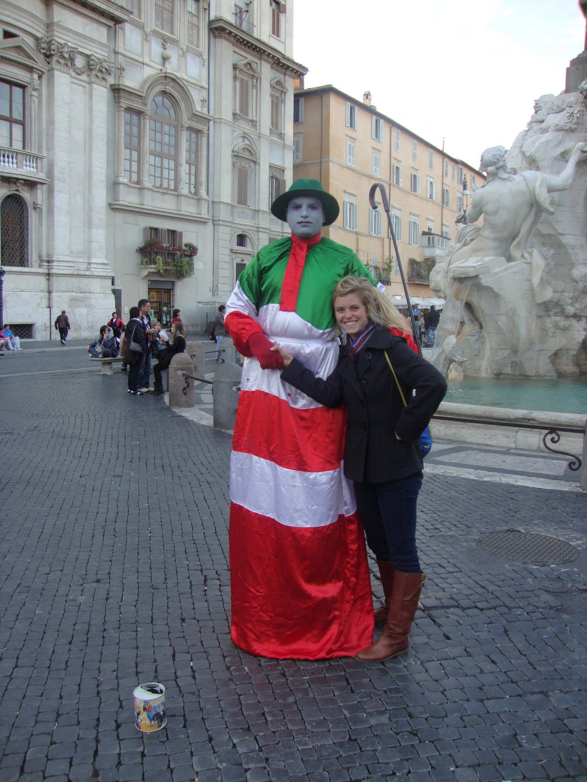 Spanish Boy On Tumblr: Anja's Year Abroad!: Piazza Navona Art And FOUR Cute