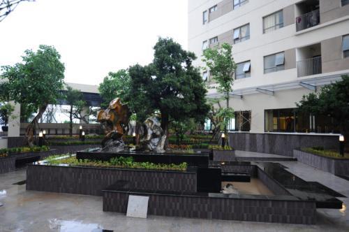 Khuôn viên chung cư - Hải Phát HP Landmark