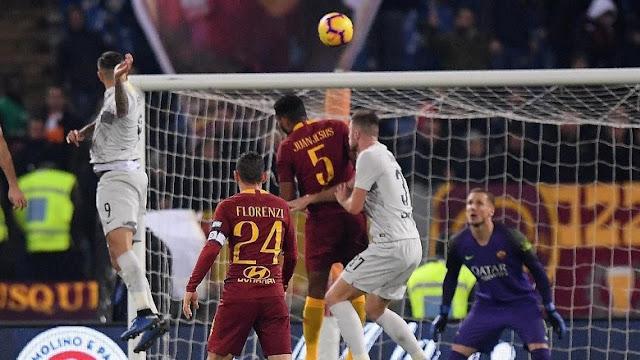 Hasil Roma vs Inter: Skor 2-2 di Olimpico
