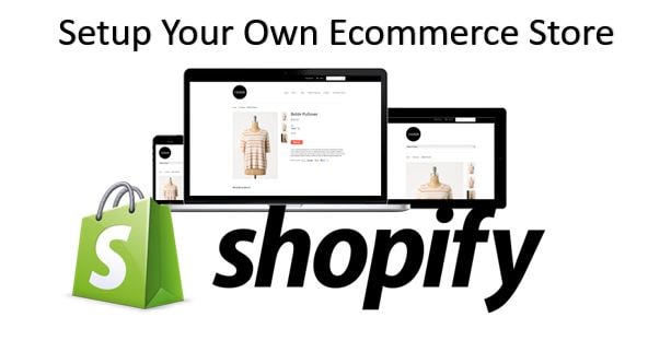 shopify - online E-commerce store
