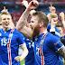Futebol da Islândia em destaque.