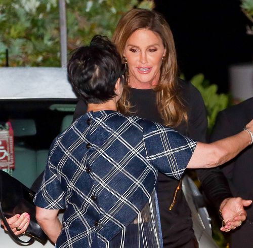 Kris Kardashian and Caitlyn Jenner reconciled