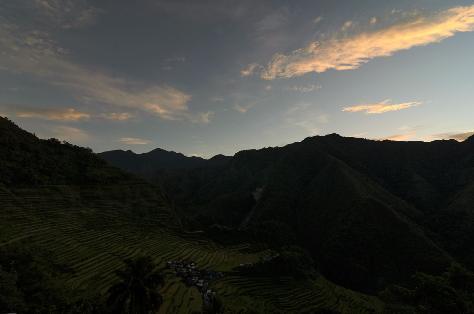 8th Wonder of the World Batad Rice Terraces Ifugao Cordillera Administrative Region Philippines Dawn of a New Day