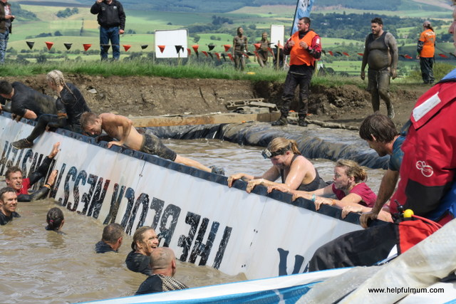 Tough Mudder Blockness monster