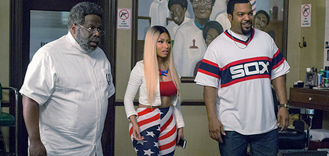 Cedric The Entertainment Nicki Minaj și Ice Cibe în Barbershop: The Next Cut