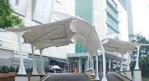 tukang kanopi, tukang kanopi kain, tenda membrane dan awning gulung