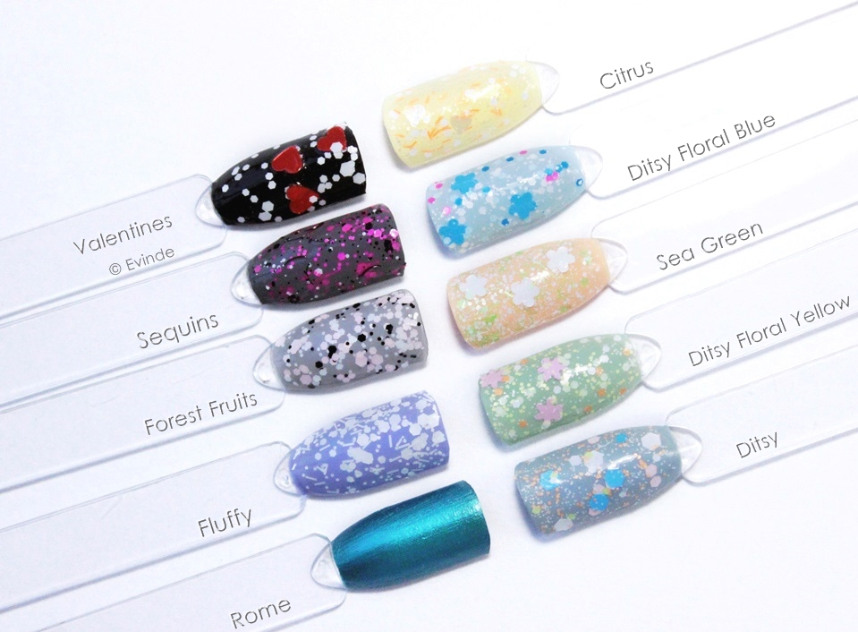 claires matte glitter nail polish swatches
