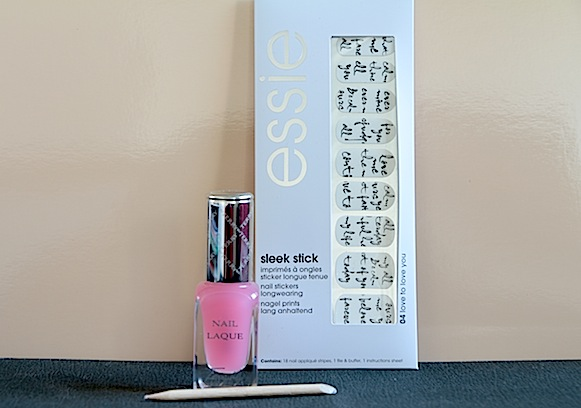 essie sleek stick nail patch avis test