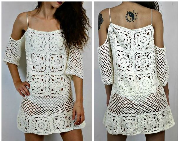 Ergahandmade crochet dress diagrams crochet dress diagrams ccuart Images