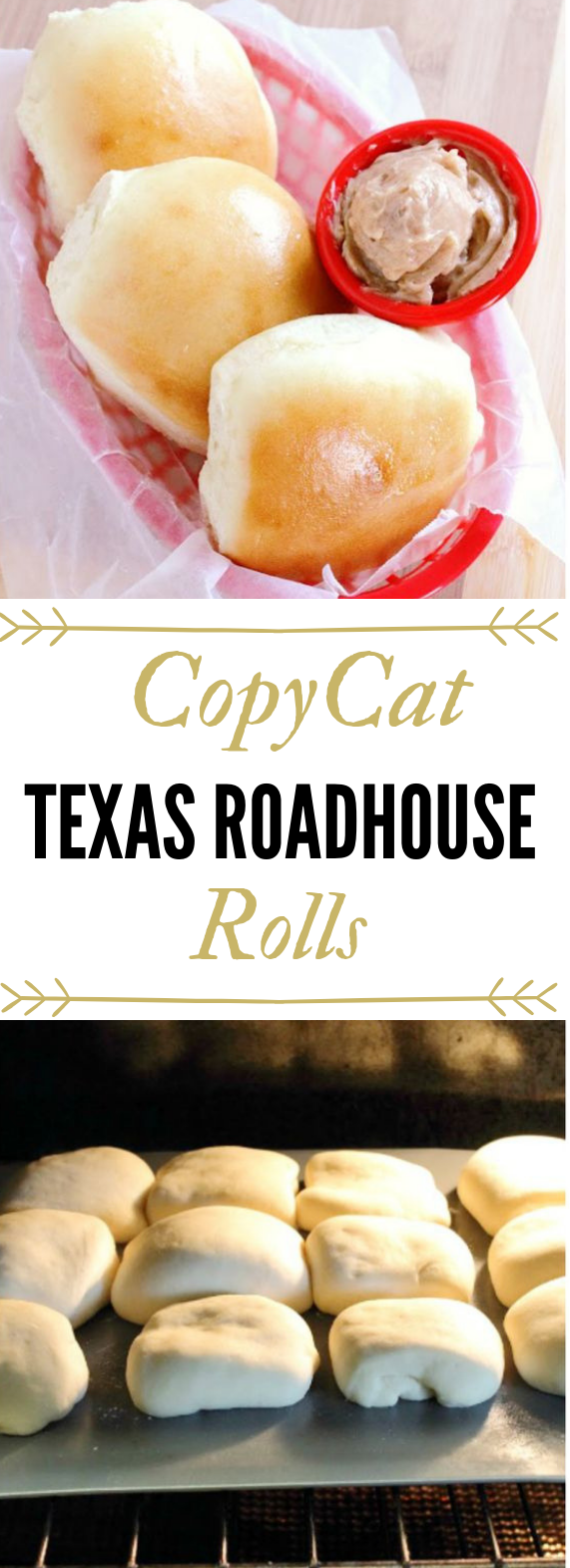 Copycat Texas Roadhouse Rolls and Cinnamon Butter Recipe #healthydinner #roadhouseroll
