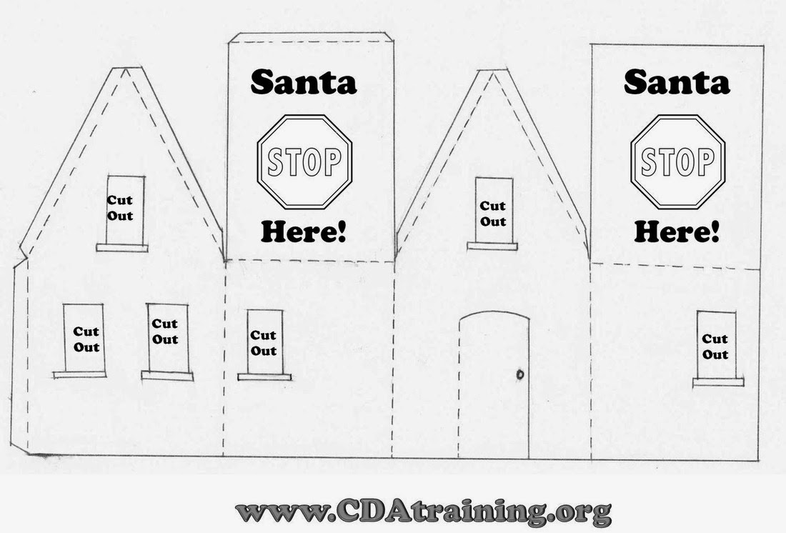 Child Care Basics Resource Blog: Santa Signal House