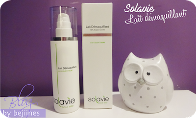 Solavie - Lait Démaquillant au Colostrum