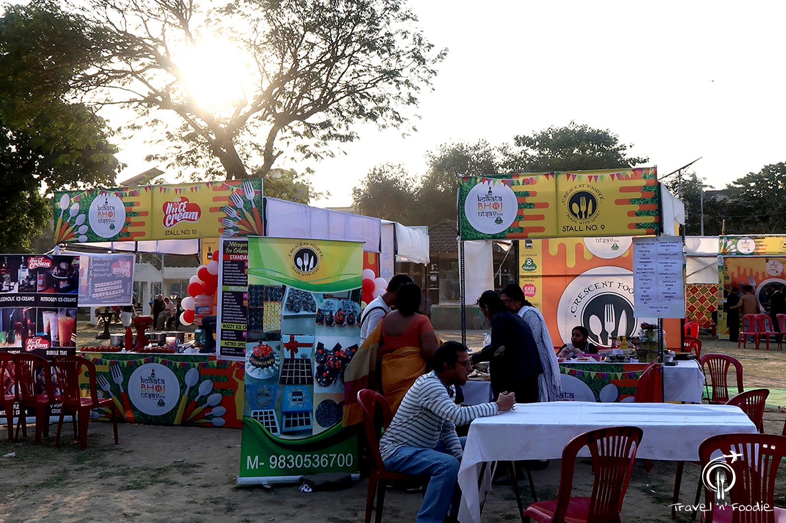 Food Festival Kolkata Bhoj Utsav Fruit Waffle Pork Barbecue