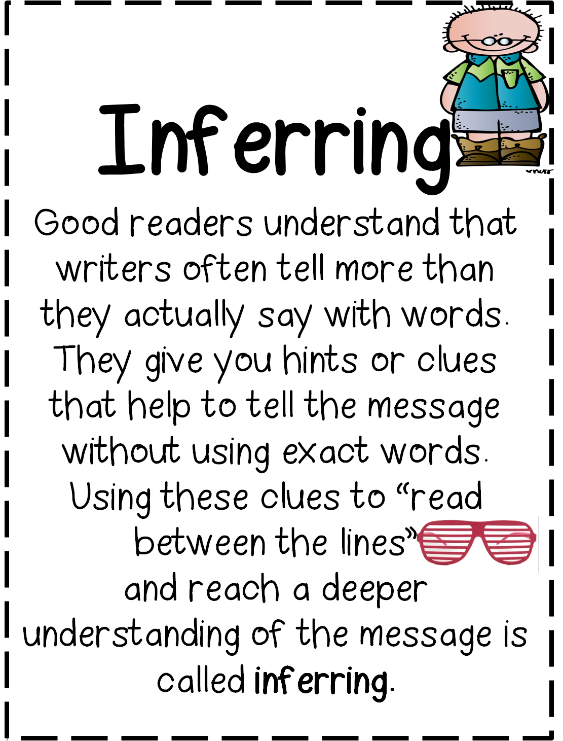 how to teach children to make infereences when reading