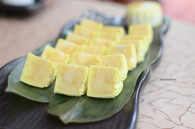 Real Musang King Durians were used to make these