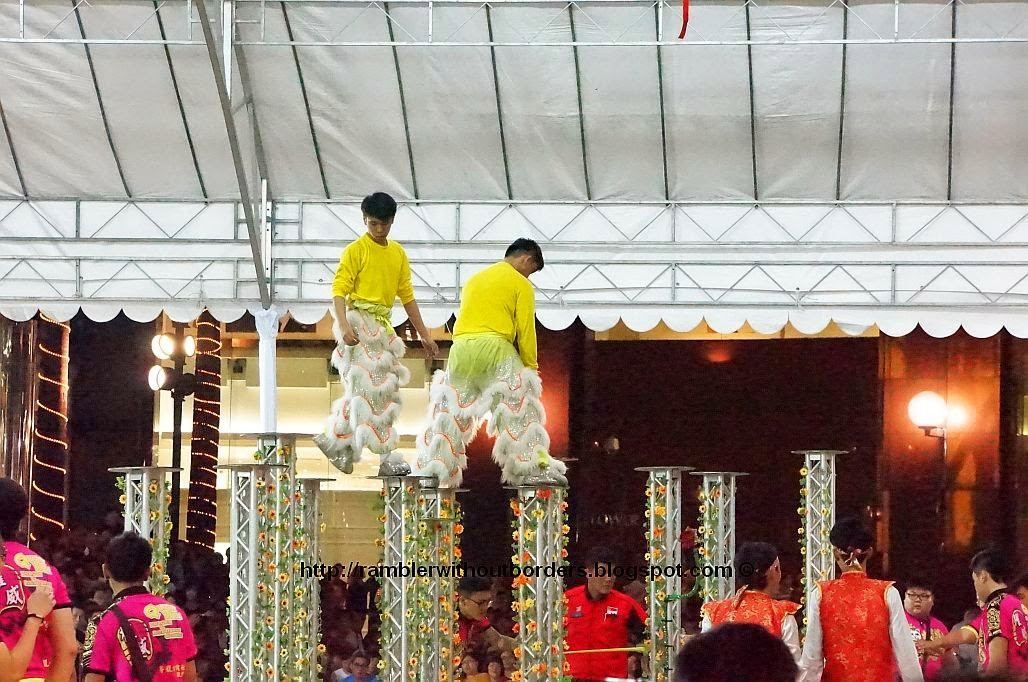 National Lion Dance Championships 2014, Singapore