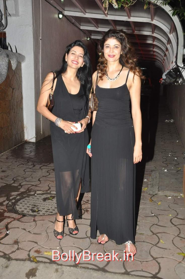 Deepti Bhatnagar and Pooja Batra, Celebs  at Karim Morani's Birthday Bash