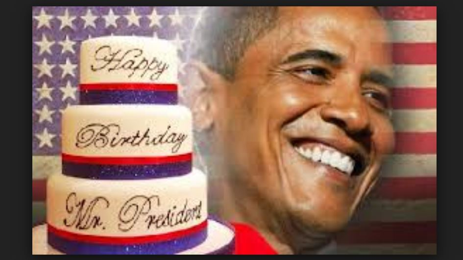 Black Chick A Little Rocked Happy Birthday Mr President