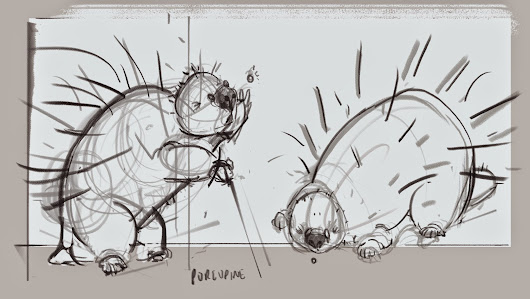 Narrative: Porcupine character sketch