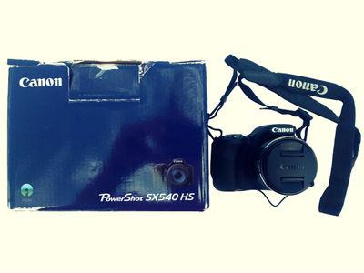 La idea de comprar una cámara de fotos Canon Power Shot SX 540 Hs