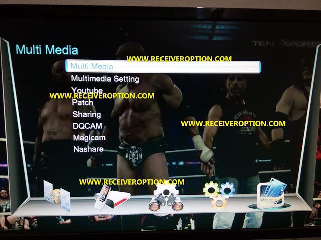 RAPITRON MINI MOXIE+ HD RECEIVER POWERVU KEY NEW SOFTWARE