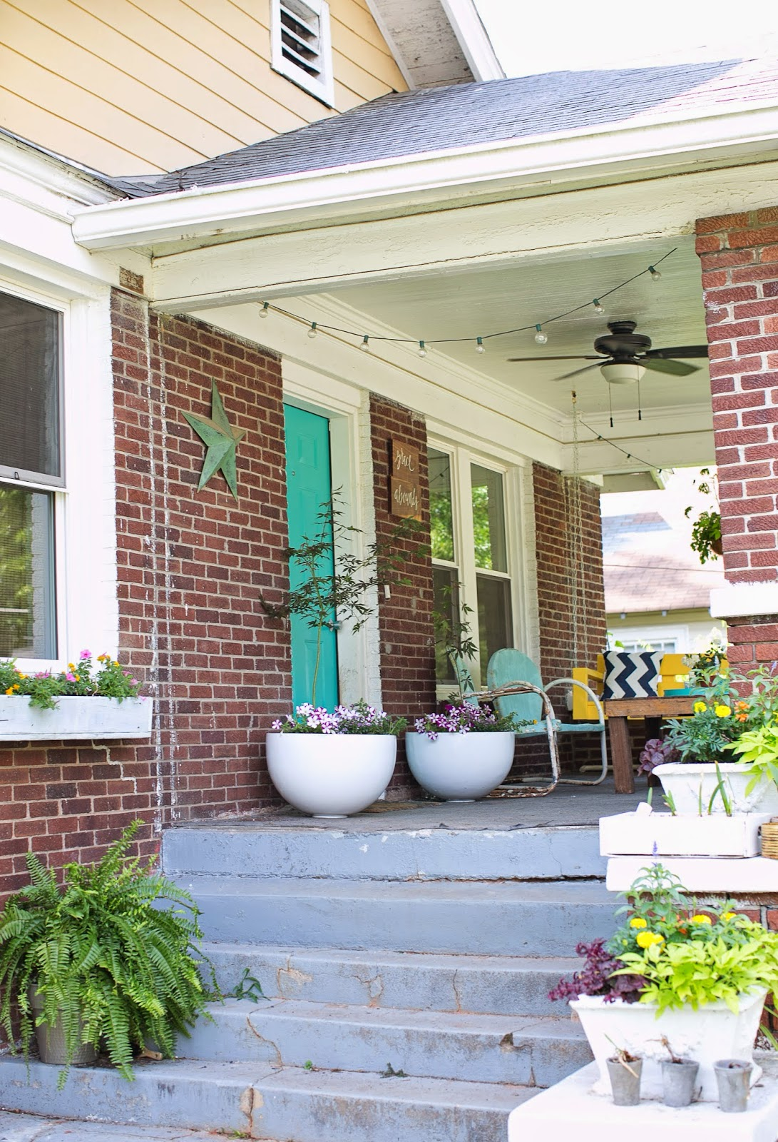 DIY front porch makeover