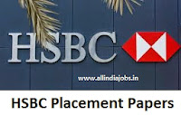 HSBC Placement Papers